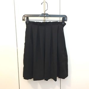 & Other Stories Black Skirt
